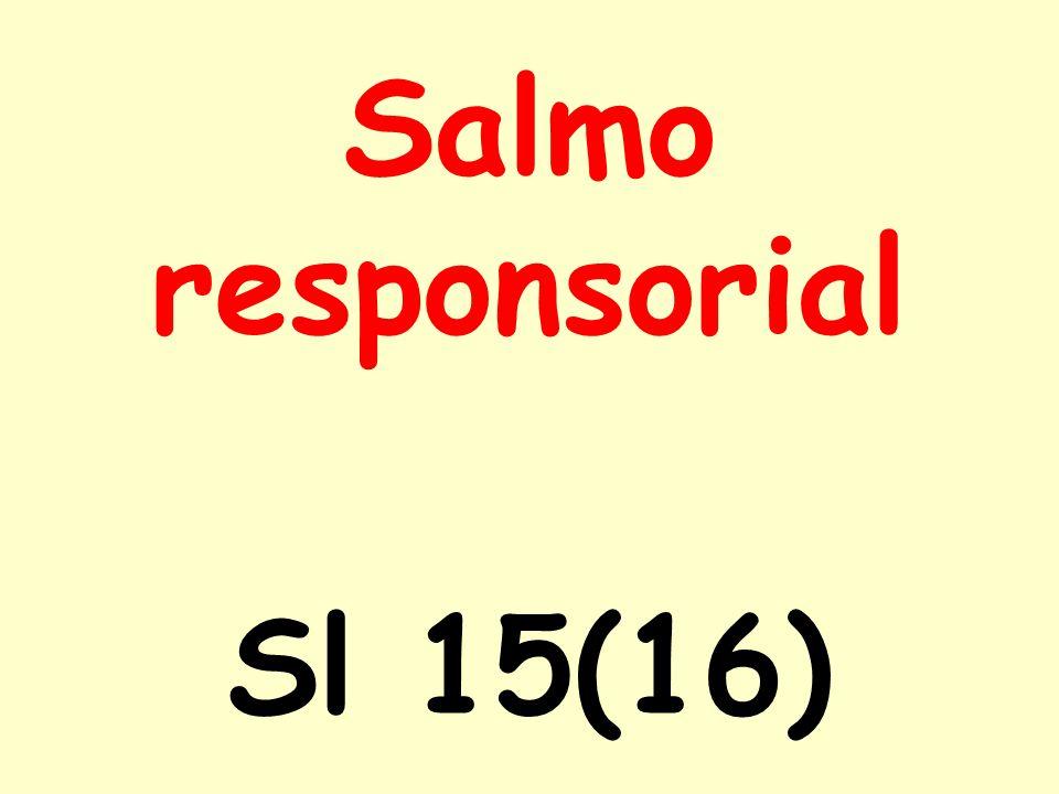 Salmo responsorial Sl 15(16)