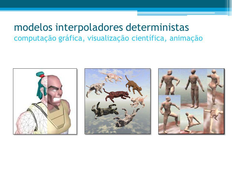 Abordagem #1- Caracterização/Simulação das Características Internas –porosidades e permeabilidades – sem condicionamento às litologias