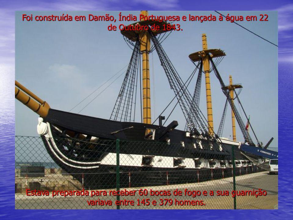 A última fragata exclusivamente à vela da Marinha Portuguesa é hoje uma testemunha eloquente da brilhante História Naval portuguesa, orgulho de muitas gerações passadas e um exemplo de determinação e coragem para as gerações futuras.