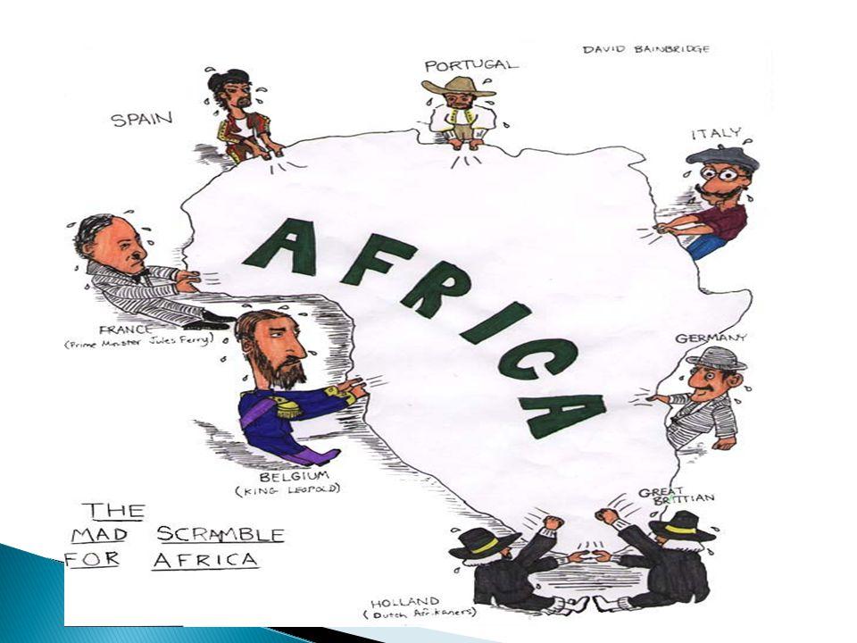  Há séculos explorados pelas potências mundiais, a África é o continente menos desenvolvido do planeta, apesar de possuir grandes riquezas minerais e energéticas.