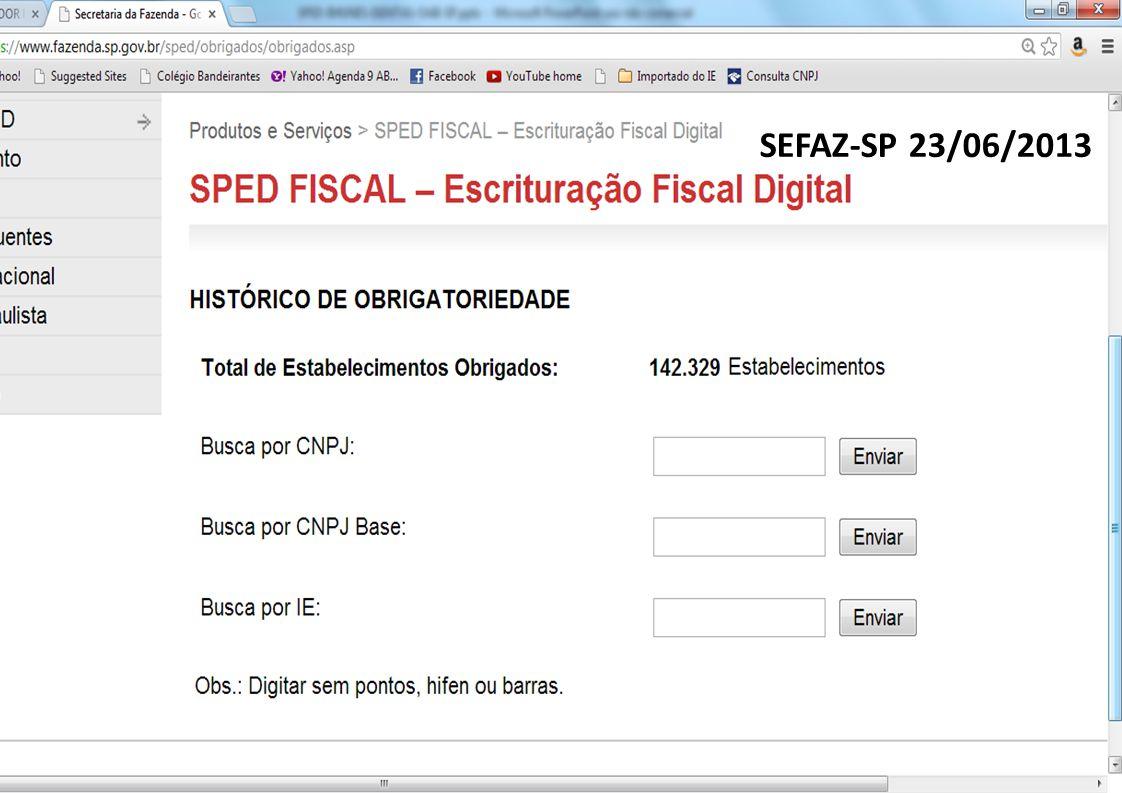 SEFAZ-SP 23/06/2013