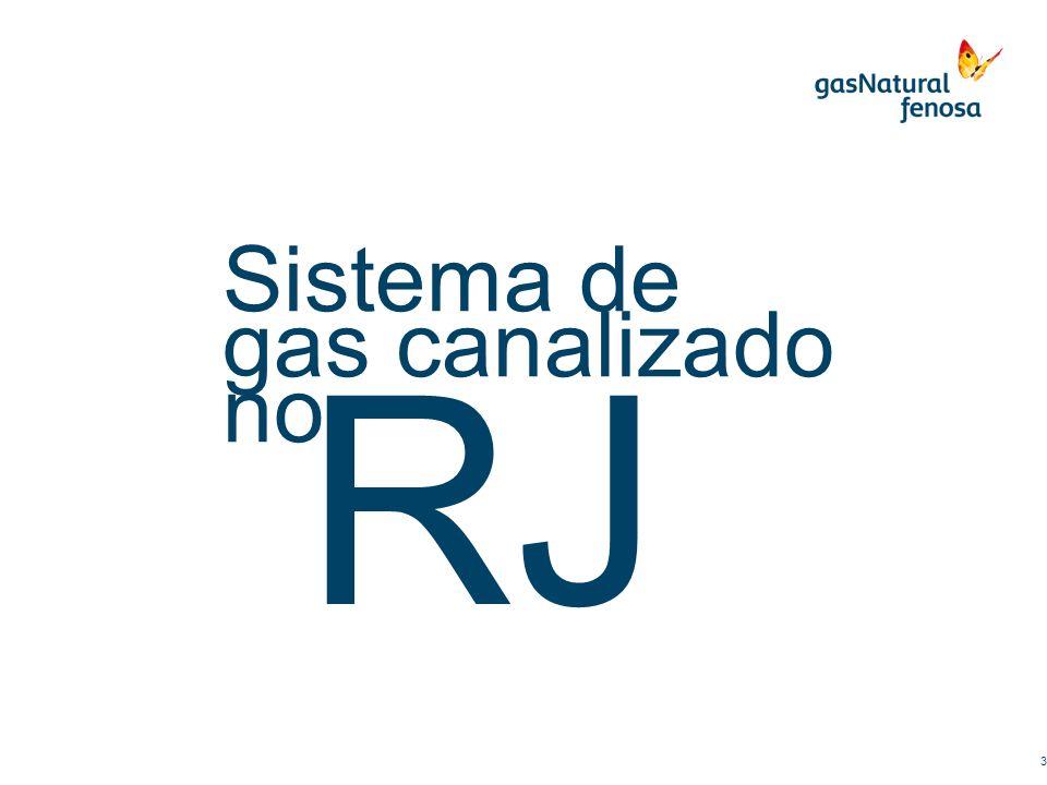 RJ 3 Sistema de gas canalizado no