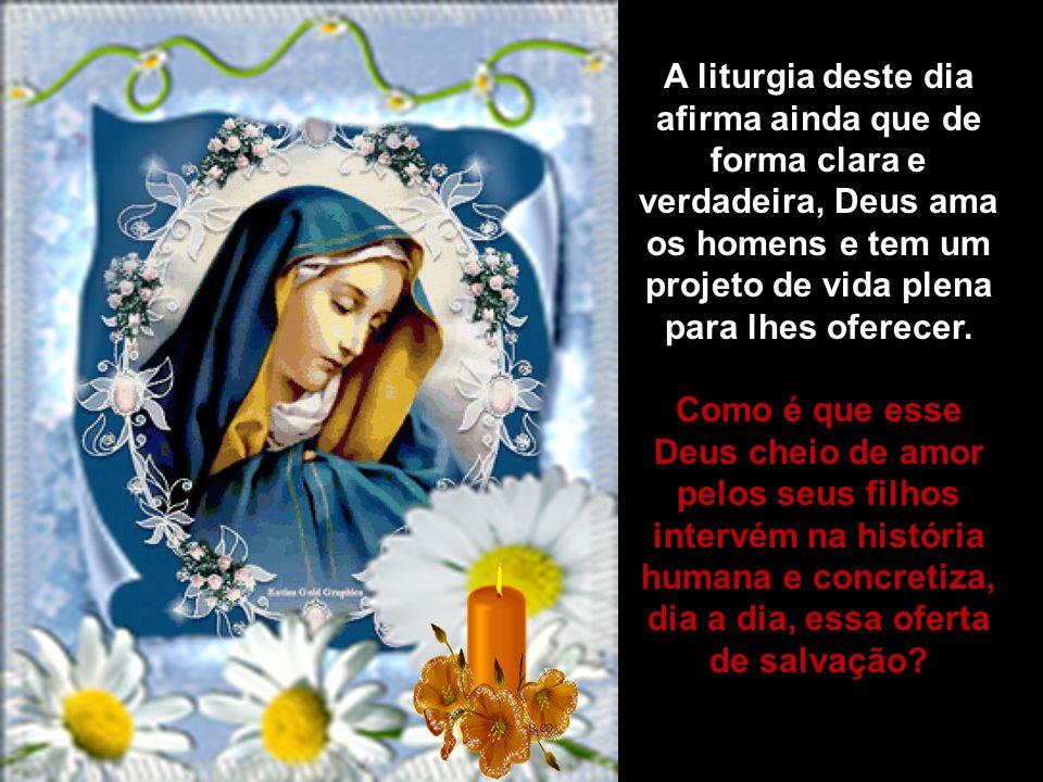 O Evangelho apresenta a resposta de Maria ao plano de Deus. Ao contr á rio de Adão e Eva, Maria rejeitou o orgulho, o ego í smo e a auto-suficiência e