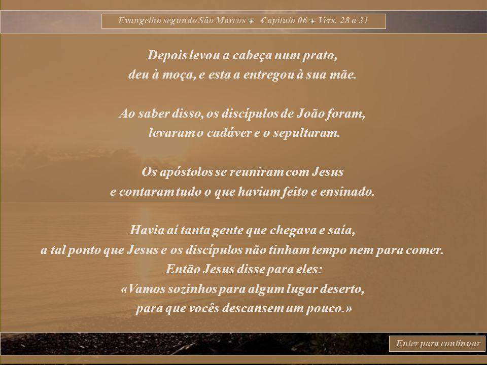 Evangelho segundo São Marcos Capítulo 06 Vers.