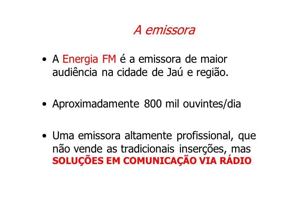 Soluções em Comunicação Via Rádio •Índice de renovação de contratos = 98% •Contemplamos a solução total para o cliente.