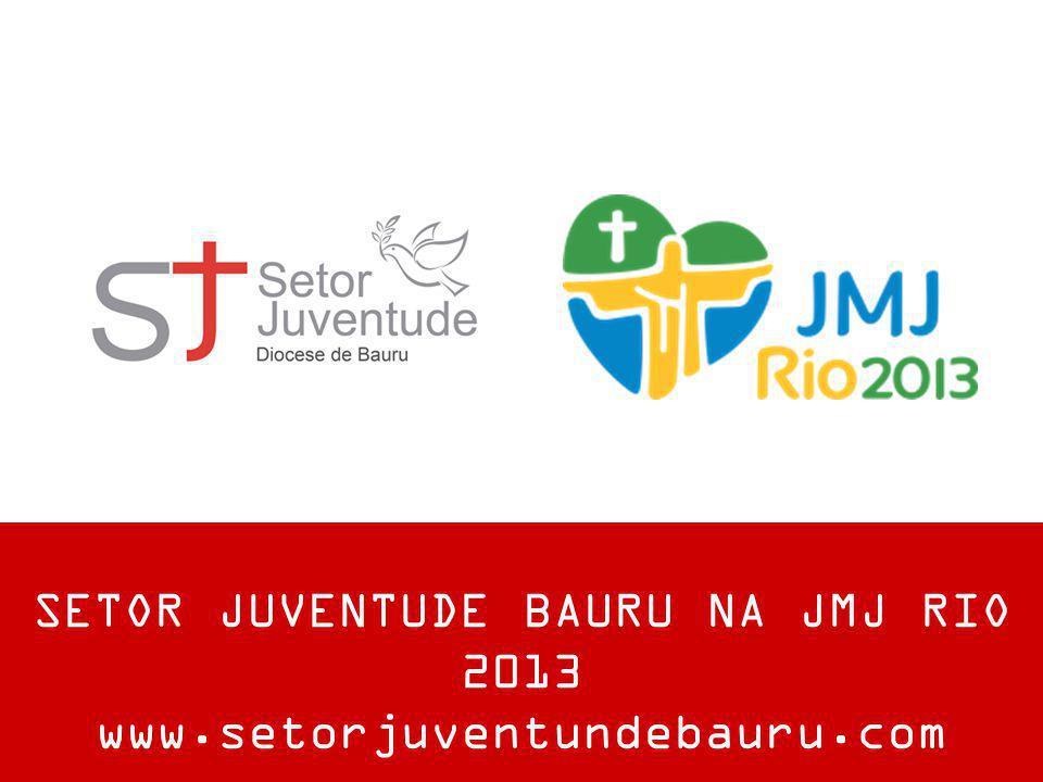 SETOR JUVENTUDE BAURU NA JMJ RIO 2013 www.setorjuventundebauru.com