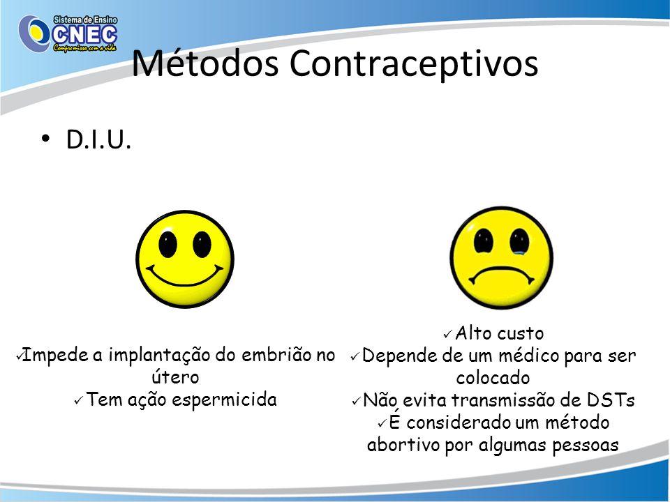 Métodos Contraceptivos • D.I.U.