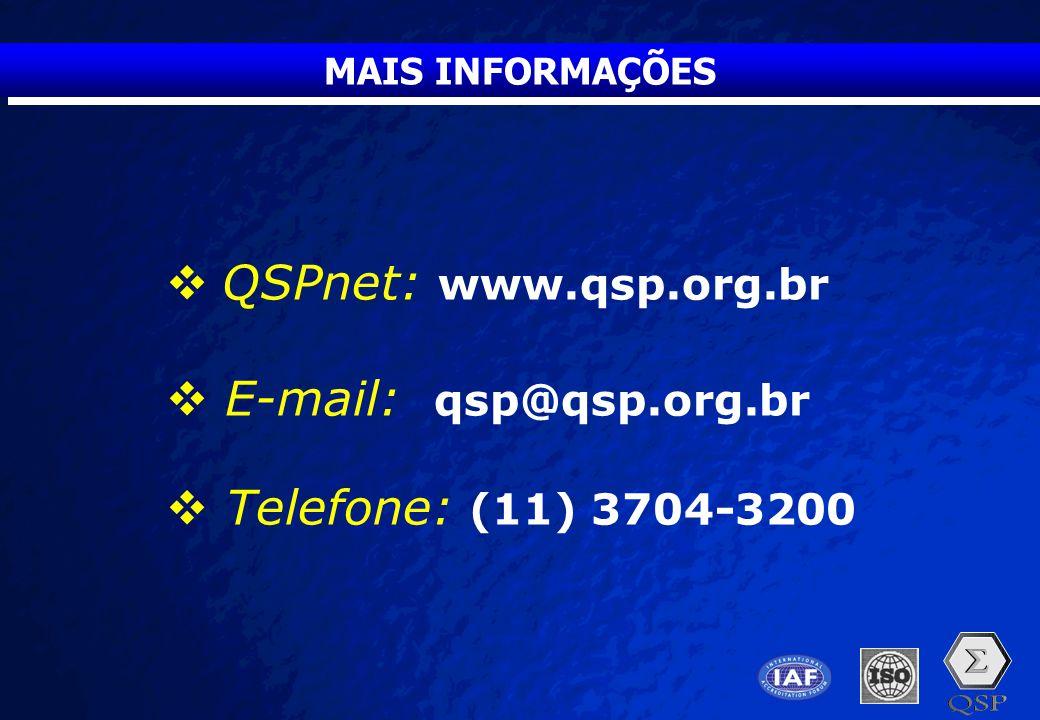 A Free sample background from www.pptbackgrounds.fsnet.co.uk Slide 38 MAIS INFORMAÇÕES  QSPnet: www.qsp.org.br  E-mail: qsp@qsp.org.br  Telefone: (