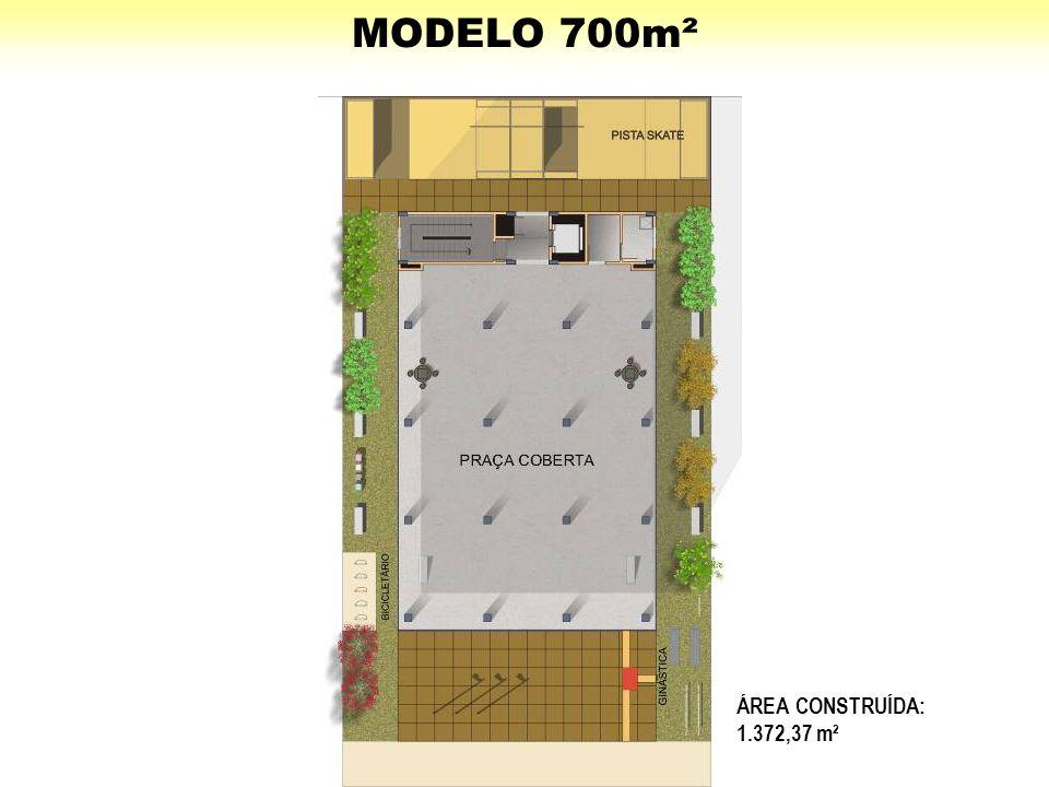 ÁREA CONSTRUÍDA: 1.372,37 m²