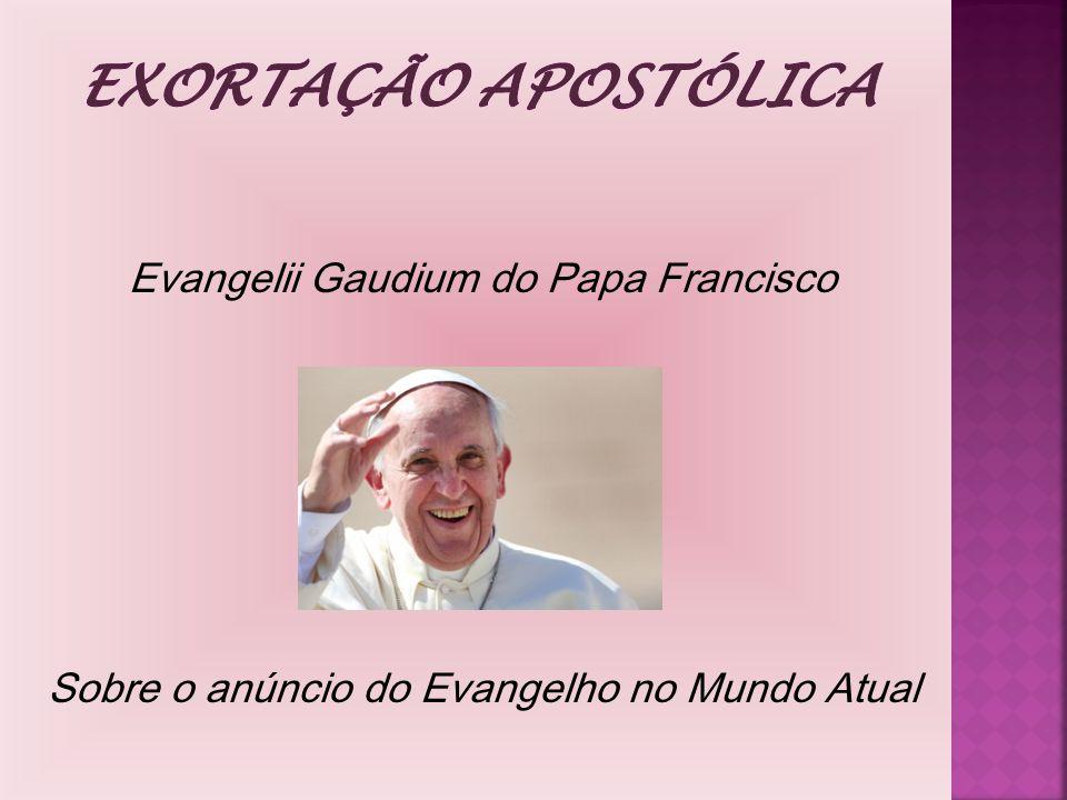 Evangelii Gaudium do Papa Francisco Sobre o anúncio do Evangelho no Mundo Atual