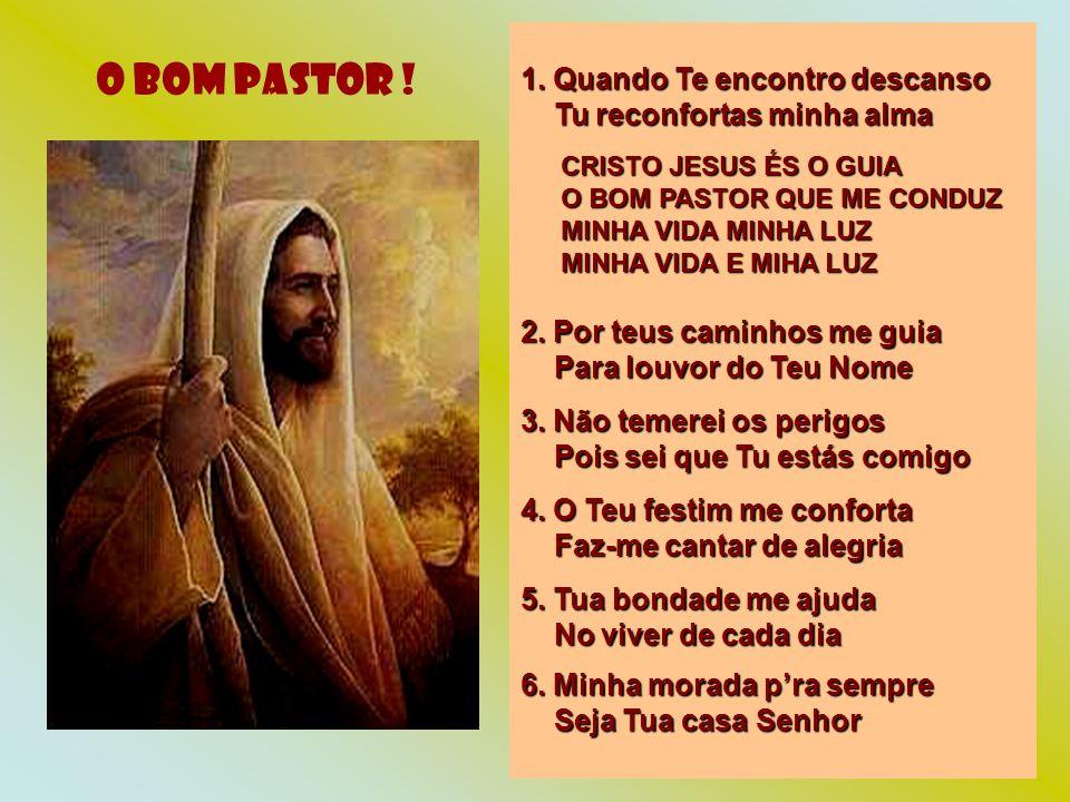 O BOM PASTOR .1.