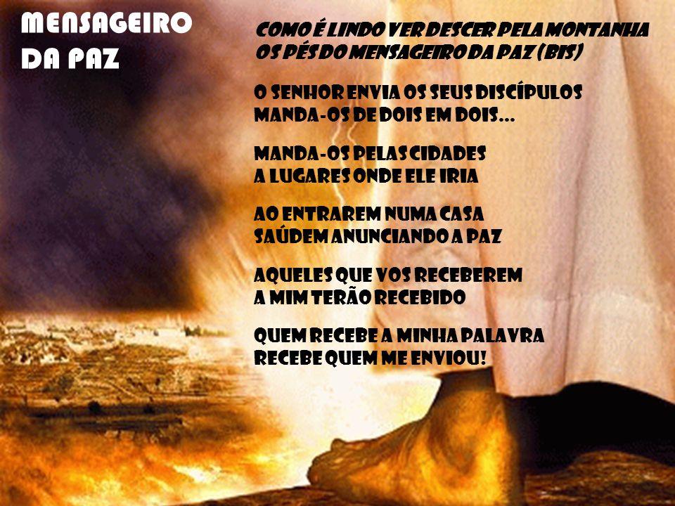 3.O Povo de Deus também teve fome E Tu lhe mandaste o pão lá do Céu.