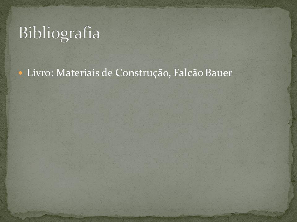  Livro: Materiais de Construção, Falcão Bauer