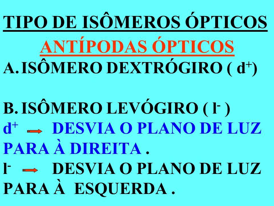IDENTIFIQUE OS CARBONOS ASSIMÉTRICOS.