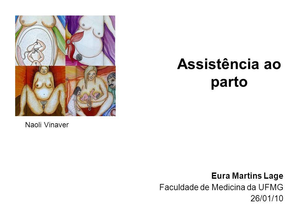 Assistência ao parto Eura Martins Lage Faculdade de Medicina da UFMG 26/01/10 Naoli Vinaver