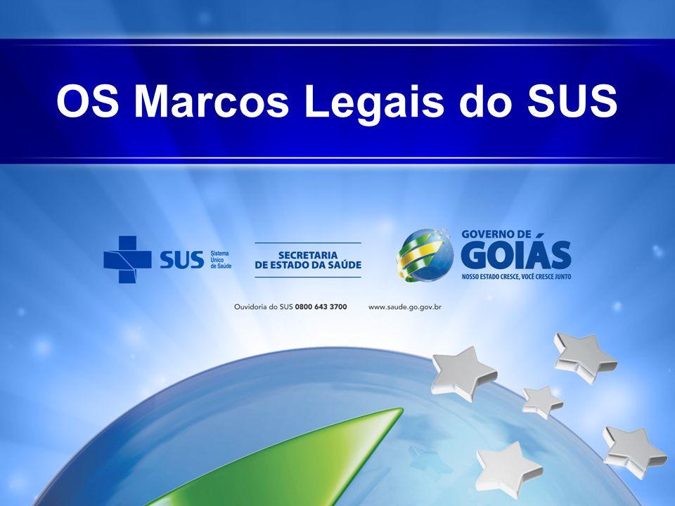 O SUS NAS LEIS Complementaridade do Setor Privado • O SUS poderá recorrer à iniciativa privada por meio de contratos e convênios (recentemente outros formatos).
