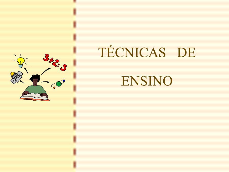1 TÉCNICAS DE ENSINO