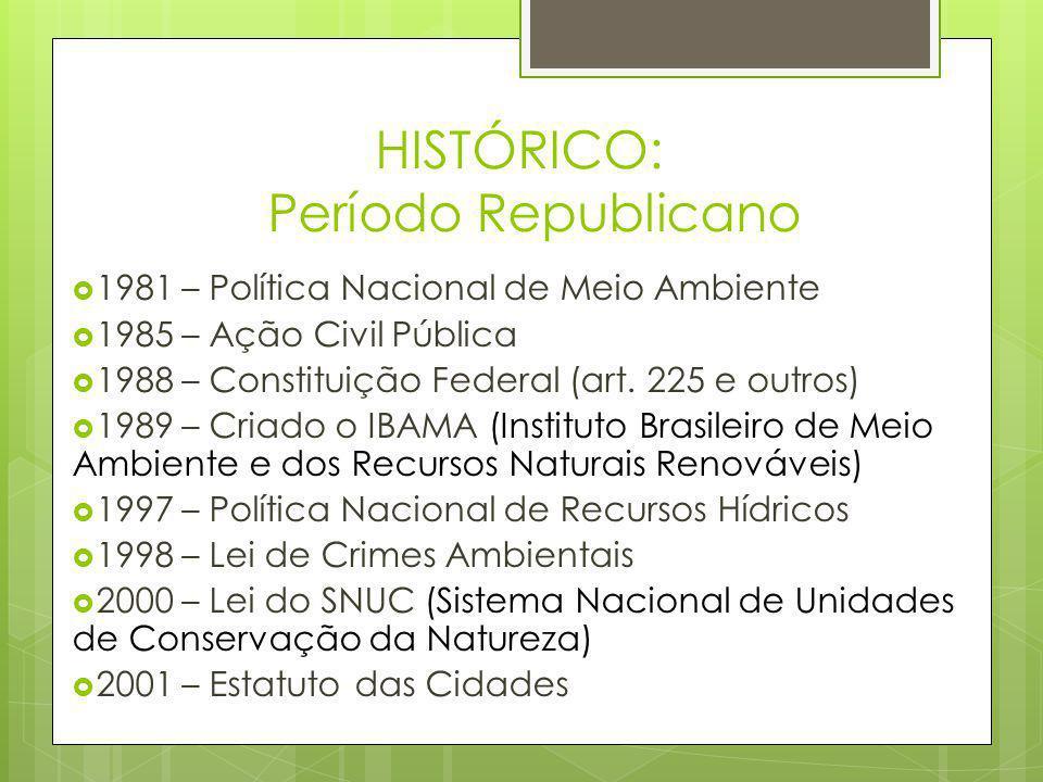 UNIDADE DE CONSERVAÇÃO AMBIENTAL  As Unidades de Conservação Ambiental são parte integrante de mecanismos brasileiros voltados para defesa ambiental tendo seu respaldo legal alicerçada na Lei Federal no 6938, de 31/08/81.