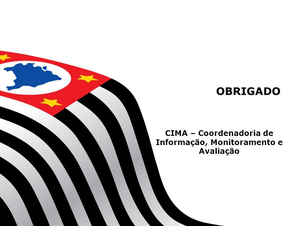 OBRIGADO CIMA – Coordenadoria de Informação, Monitoramento e Avaliação