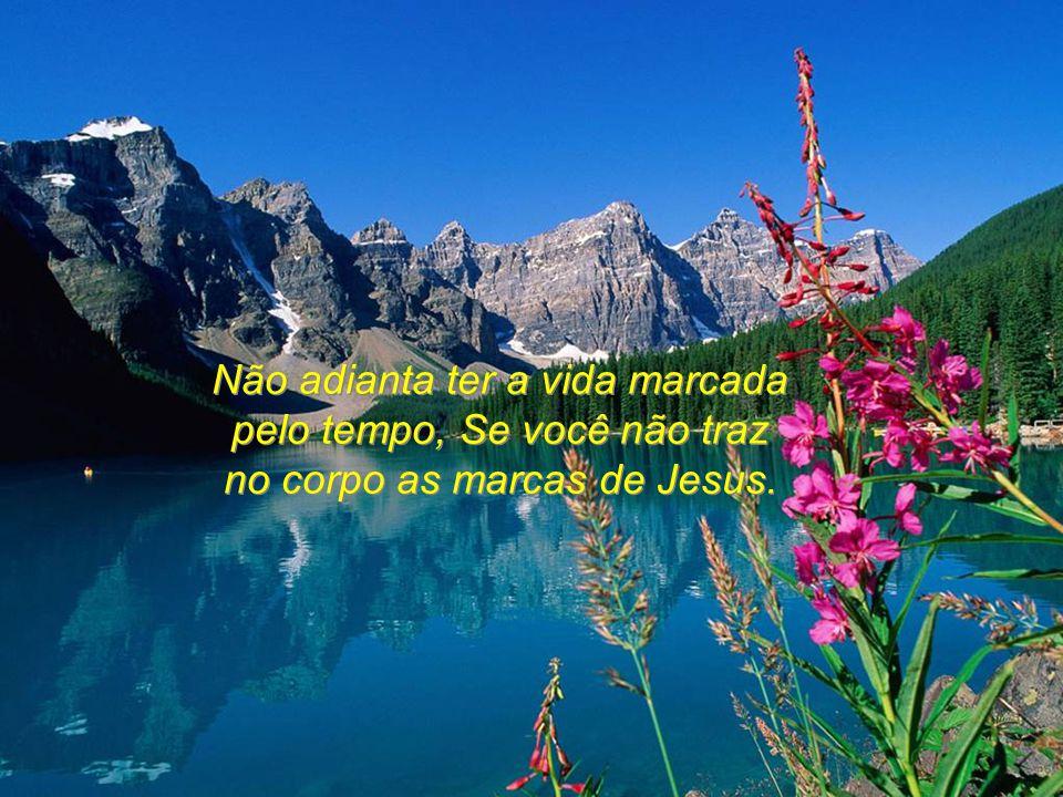 Não adianta ter a riqueza da salvação, Se você não a divide com o próximo.