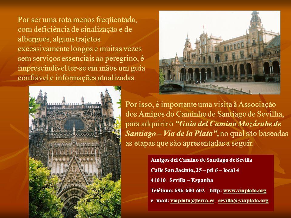 Ponto de partida: Sevilla.
