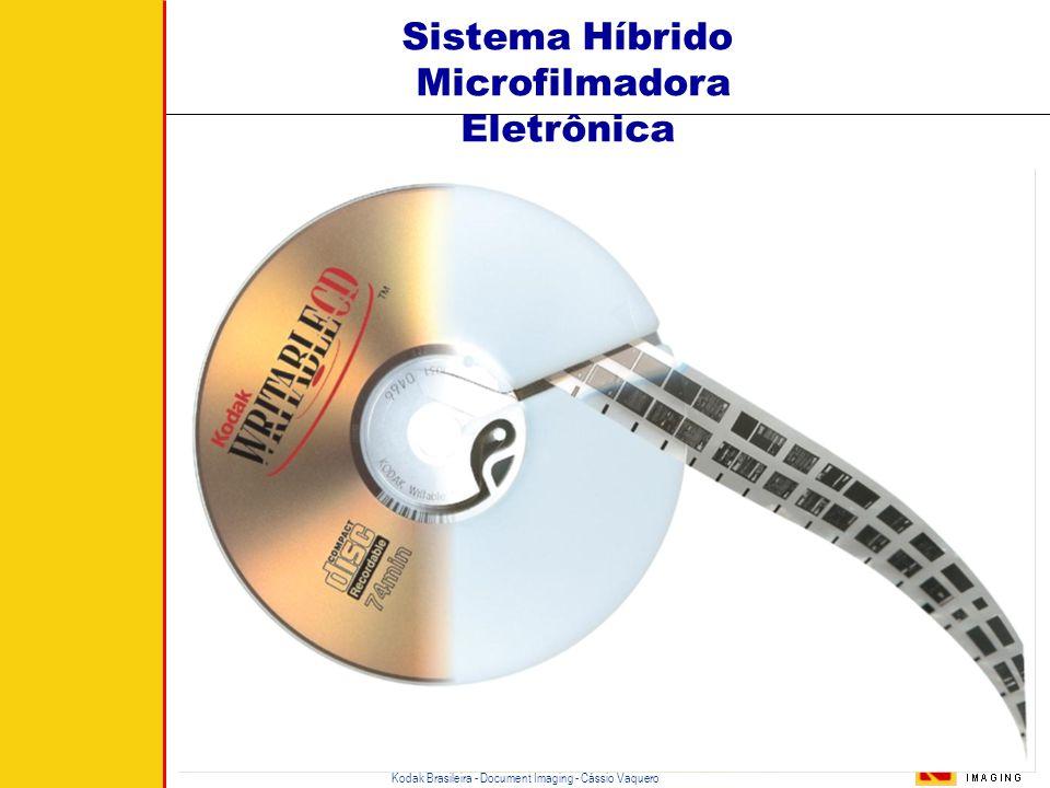 Kodak Brasileira - Document Imaging - Cássio Vaquero O Custo do Arquivo Digital OD 1997 >> OD 2003 >> OD 2009 >> OD 2015 Fase Inativa Fase Ativa  O t