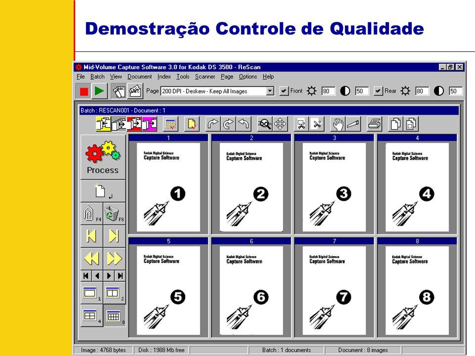 Kodak Brasileira - Document Imaging - Cássio Vaquero Como o Microfilmadora Eletrônica Pode Ajudar? MVCS Ajuda a Transfomar Isto Nisto! Controle de Qua