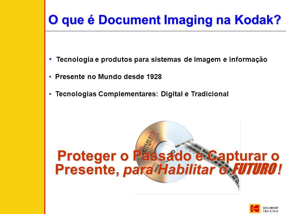 Kodak Brasileira - Document Imaging - Cássio Vaquero Integração das Tecnologias Digitais e Micrográficas Garantindo a Preservação da Informação Soluçã