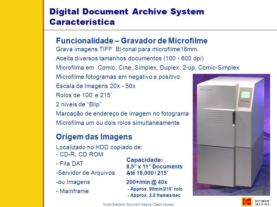 Implementação Microfilme Scanner Software de GED • Pesquisa/Consulta • Armazenamento Digital DAW Sistema Híbrido