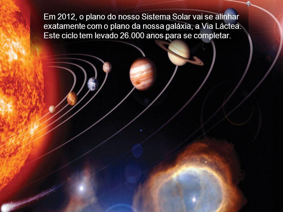 O Planeta Terra e o Sistema Solar entrará em sincronização galáctica com o resto do Universo. - O nosso DNA sofrerá um