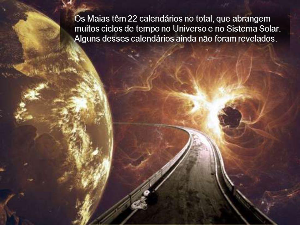 A civilização Maia na América Central é a mais avançada em relação ao conhecimento da ciência do tempo. O seu calendário principal é o mais preciso do