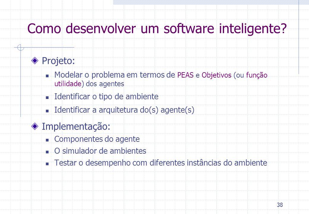 38 Como desenvolver um software inteligente.