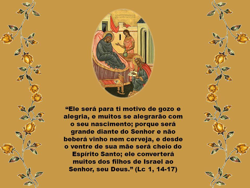 """""""Apareceu a Zacarias um anjo do Senhor, em pé, à direita do altar do perfume. Vendo-o, ficou perturbado, e o temor assaltou-o. Mas o anjo disse-lhe: '"""