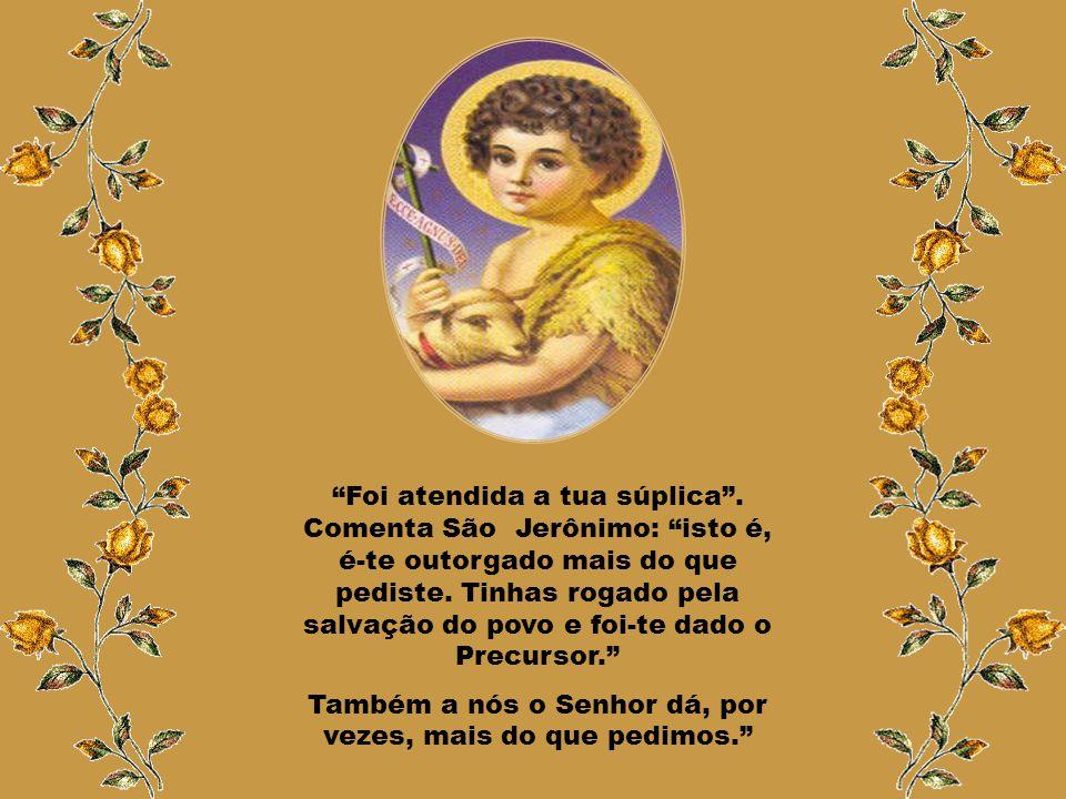 """Por meio do Arcanjo Deus intervém de forma extraordinária na vida de Zacarias e Isabel. """"Zacarias perguntou ao anjo: 'Donde terei certeza disto? Pois"""