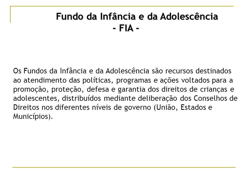 Marcos Legais  Lei nº 8.069/90: Estatuto da Criança e do Adolescente (ECA) Art.
