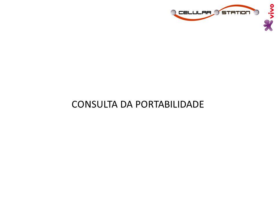 CONSULTA DA PORTABILIDADE