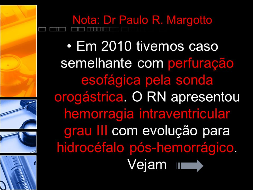 Nota: Dr Paulo R.