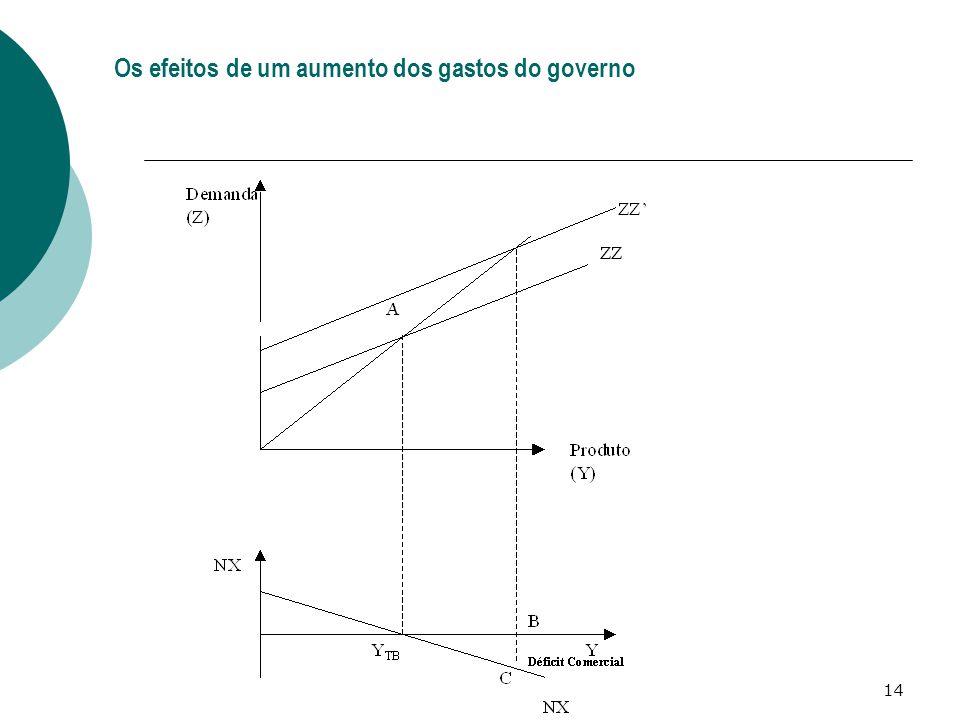 14 Os efeitos de um aumento dos gastos do governo