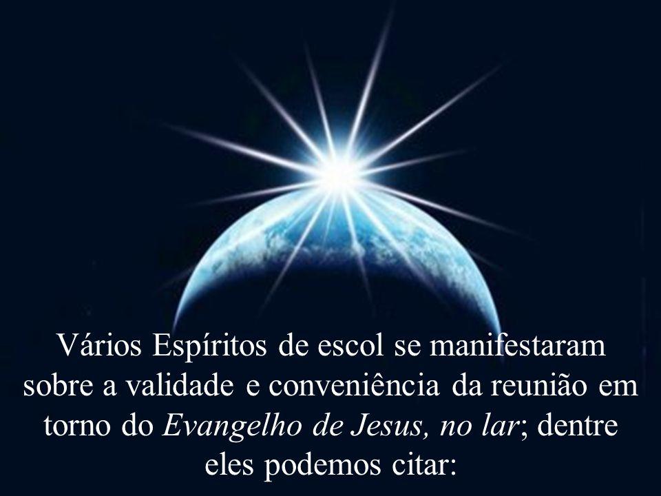 Emmanuel afirma: O culto do Evangelho no Lar não é uma inovação.