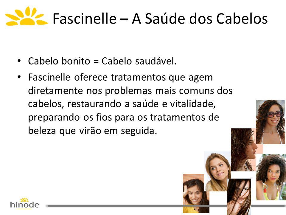 • Cabelo bonito = Cabelo saudável. • Fascinelle oferece tratamentos que agem diretamente nos problemas mais comuns dos cabelos, restaurando a saúde e