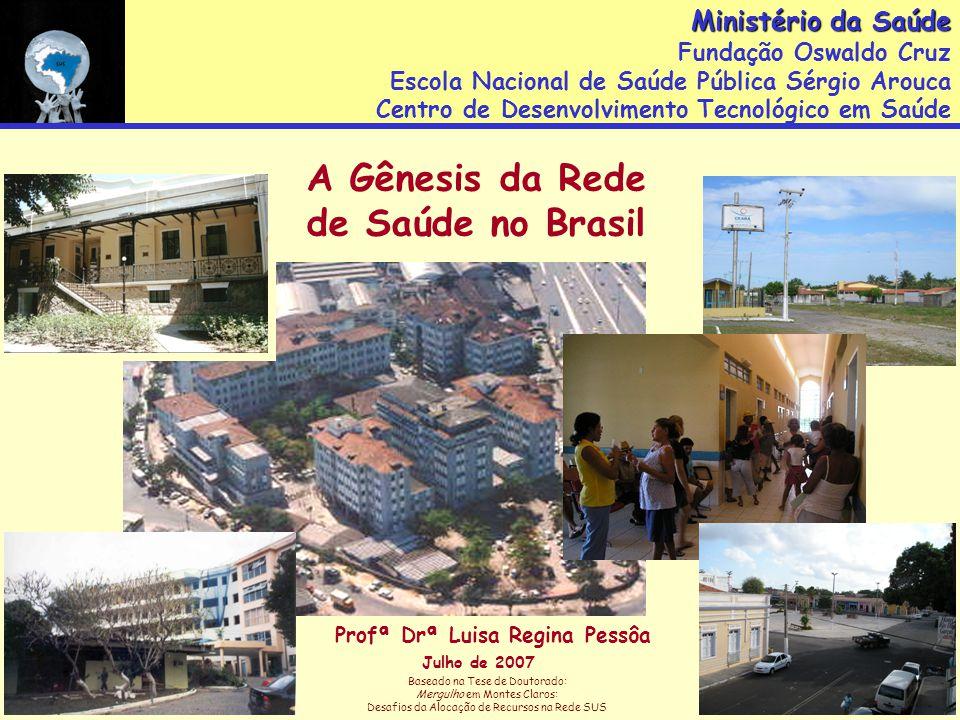 Hospital Servidores do Estado - 1934 Santa Casa de São Paulo - 1910 O hospital é a instituição mais dinâmica da sociedade contemporânea .