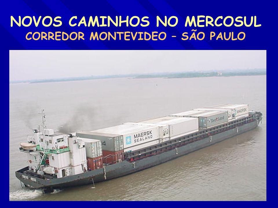 NOVOS CAMINHOS NO MERCOSUL CORREDOR MONTEVIDEO – SÃO PAULO -