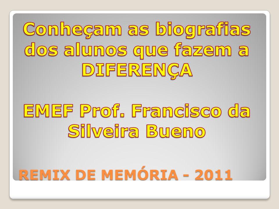REMIX DE MEMÓRIA - 2011
