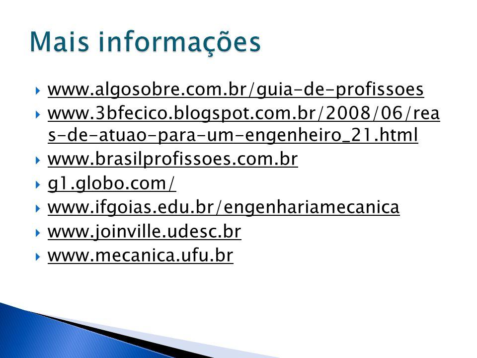  www.algosobre.com.br/guia-de-profissoes  www.3bfecico.blogspot.com.br/2008/06/rea s-de-atuao-para-um-engenheiro_21.html  www.brasilprofissoes.com.