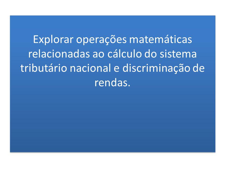 Apresentar os dados do Censo Demográfico Brasileiro explorando leitura de números, conjuntos numéricos, estatística, construção de gráficos e tabelas, porcentagem, estimativa e operações básicas.