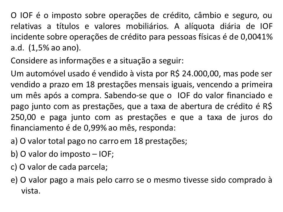 A tabela a seguir apresenta a arrecadação do Estado de Goiás no período de janeiro a julho de 2011/2012.
