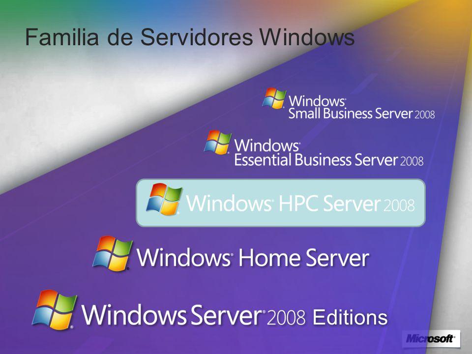 Familia de Servidores Windows Editions