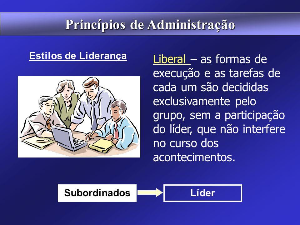 Democrática – as diretrizes, as formas de execução e as tarefas de cada um são debatidas e decididas pelo grupo, com o apoio e estímulo do líder. Subo