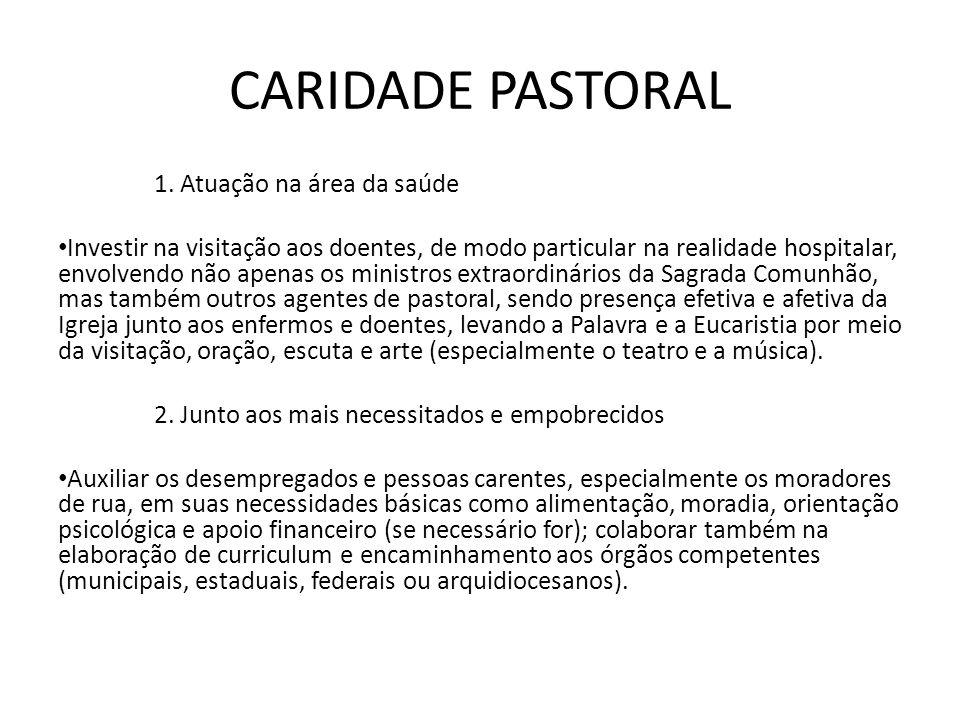 CARIDADE PASTORAL 1.