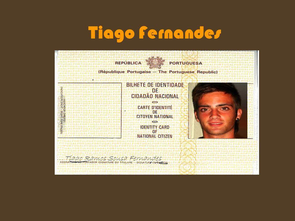 Tiago Fernandes Tiago Ramos Sousa Fernandes